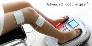 how to use the Advanced Foot Energizer ®