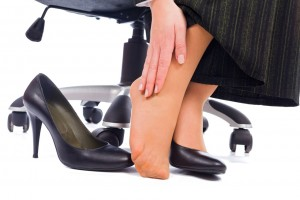 relieve tired achy feet from wearing high heals or work shoes
