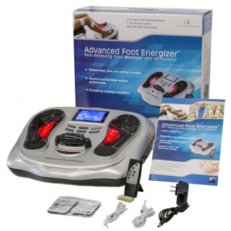 Advanced Foot Energizer ® EMS and TENS Pain Relieving Foot Stimulator and Massager