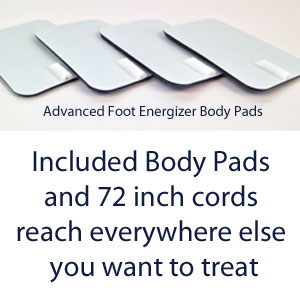 Advanced Foot Energizer Circulation Machine Body Pads