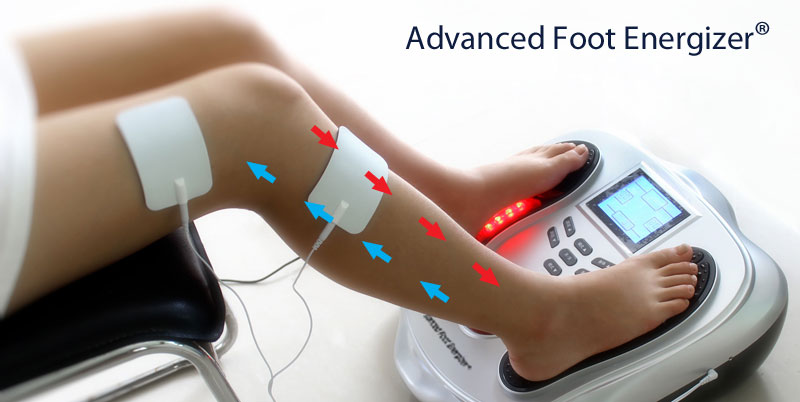 how to use electrical muscle stimulation for circulation