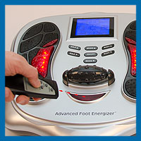 Using Remote Control for Advanced Foot Energzier